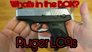 Unboxing a Ruger LC9s with Stainless Steel slide