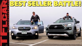 We Drive and Compare Subaru's and Toyota's Top-Selling Cars to Decide Which One is Best!