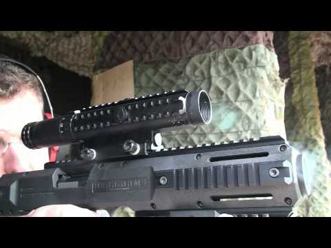 G's HD Gun Show: Shooting HERA-ARMS CPE 1911 Conversion Kit Colt Pistol to Carabine