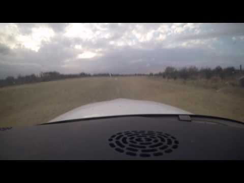 Cirrus SR22 Backtrack and Takeoff from Hoedspruit Civil Airfield