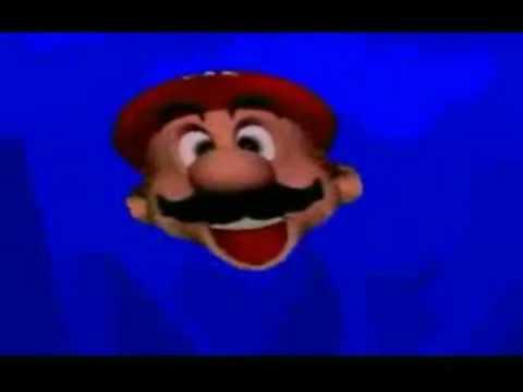 Mario's severed head