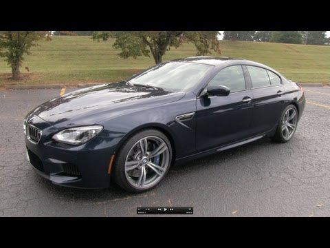 2014 BMW M6 Gran Coupe Start Up. Exhaust. and In Depth Review