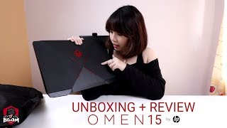 Unboxing + Review Laptop Gaming Super Keren !!  (HP OMEN 15-CE086TX)