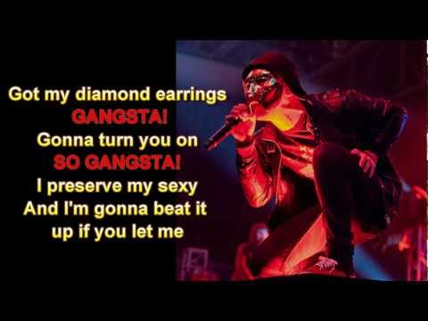 Hollywood Undead - Gangsta Sexy Lyrics Full Hd video