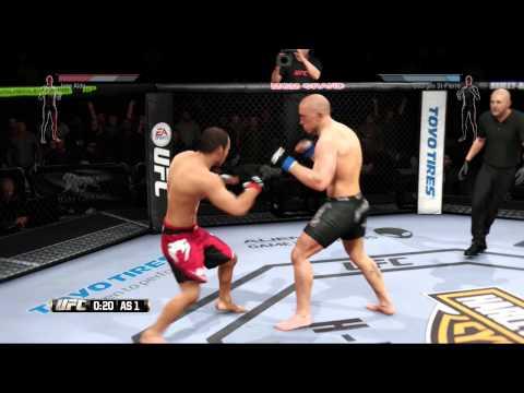 JOSE ALDO AGUANTA!!!! - UFC EA Sports