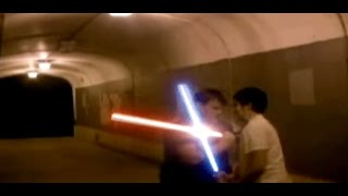 """The Tunnel"" A Lightsaber Duel LCC6"