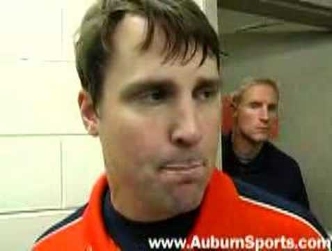 Auburn Florida Post-Game coaches interviews