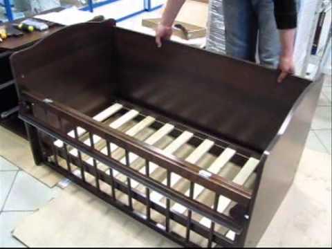 Схема сборки кроватки чунга чанга 259