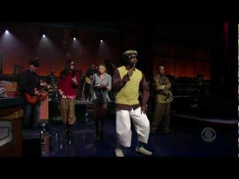 Black Eyed Peas - Dont Lie LIVE on Letterman