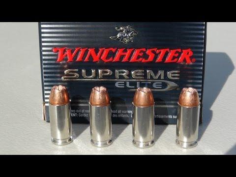 .40 Winchester Bonded PDX1 165 gr Ammo Gel Test