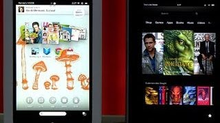 Nook HD vs. Kindle Fire HD