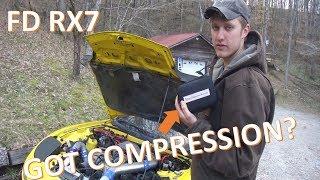 RAD FD RX7 Compression Test
