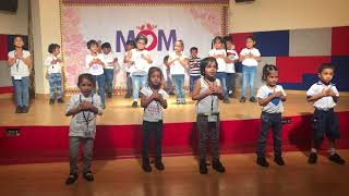 Mothers Day performance 18th May 2018, ChalkTree School