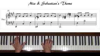 Mia & Sebastian's Theme (La La Land) Piano Tutorial