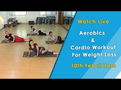 Aerobics and Cardio Workout For Weight Loss - HomeRemedyTips