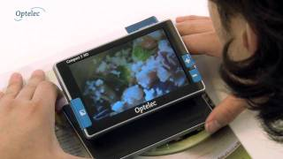Handheld Video Magnifier Optelec Compact 5 HD: How does it work?