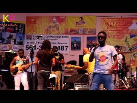 Zenglen at Haitian Culture, Music & Food Festival in Delray Beach FL July 05, 2014