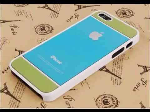 Slim plastic case cover for apple iphone 5 case