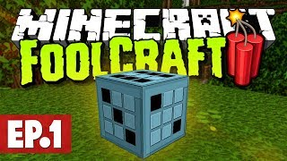 Minecraft FoolCraft 3 - Portable Crafting, Chance Cubes & Mars! #1 [Modded Survival]
