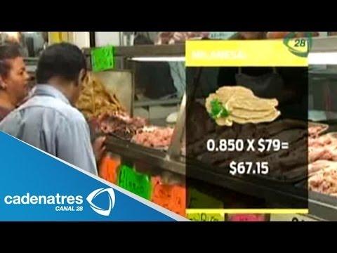 Qué alcanza con el nuevo salario mínimo 2014 en México