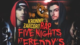 FIVE NIGHTS AT FREDDY´S - KRONNO & ZARCORT | RAP PLAY (Videoclip Oficial)
