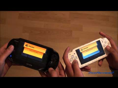 PS VITA - PSP Cross Platform Multiplayer -