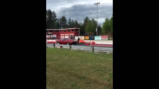 Snowmobile Drag Racing - Northern Michigan Dragway