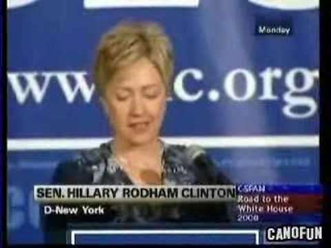 Hillary Clinton Defends the DLC in July 2005