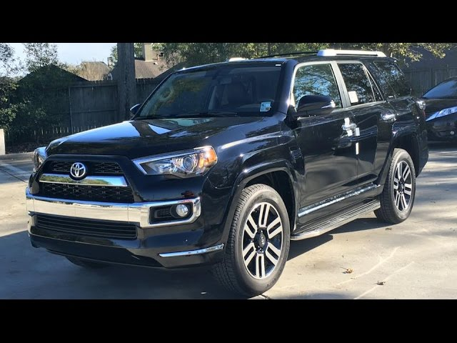 2016 Toyota 4Runner Limited Full Review, Start Up, Exhaust