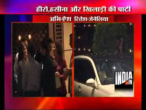 Bollywood Stars Descend On Ambani's Party For Sachin At Antilla