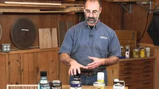 Woodworking Tips: Finishing - Top Coat Overview