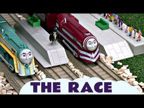 King Of The Railway Race Connor Caitlin Spencer Gordon Thomas The Train