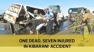 One dead, seven injured in Kibarani accident
