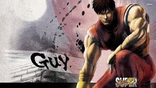 Ultra Street Fighter IV. Guy.