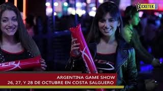 #TicketekNews - Argentina Game Show