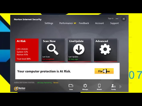 norton internet security 2014 trial reset