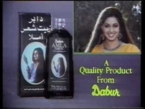 Old Commercials: Dabur Amla Hair Oil - Sridev...