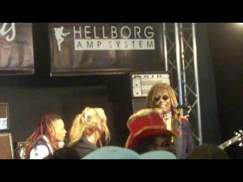 Frankfurt Musikmesse 2010: TM Stevens feat. Blackbyrd McKnight, Divinity Roxx&Bootsy Collins