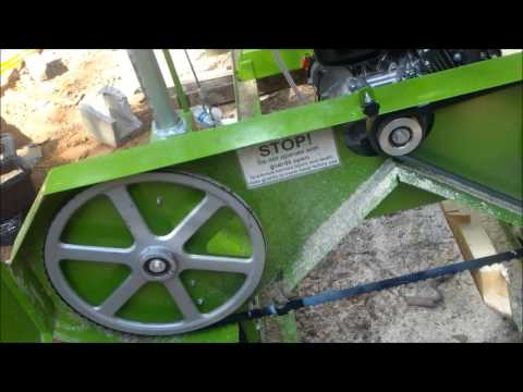 Harbor Freight Saw mill blade change