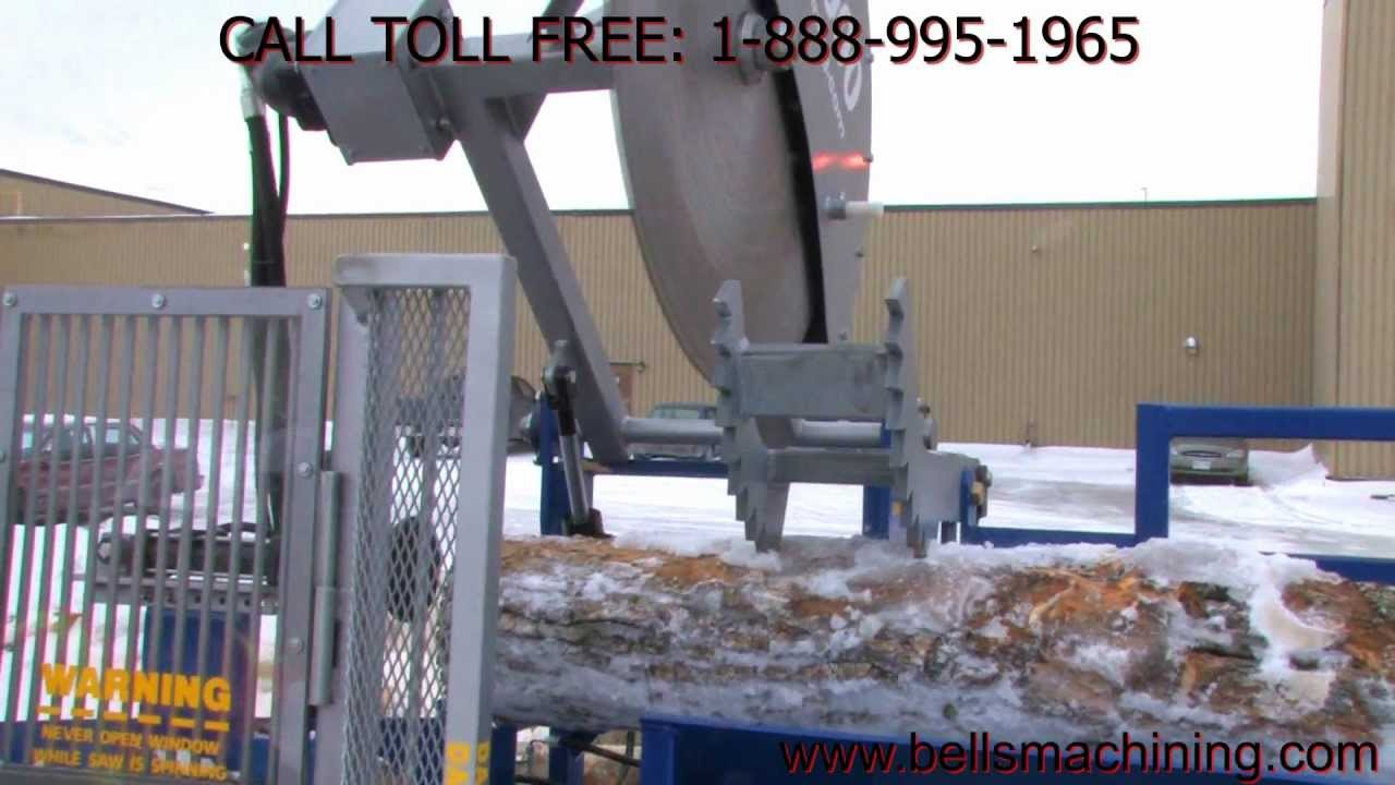 The 6000 Firewood Processor By Bells Machining Youtube
