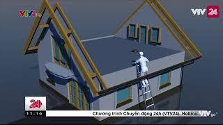 Phát hiện mìn tự chế được đặt tại nóc của hội trường thông tại Đắk Lắk| VTV24