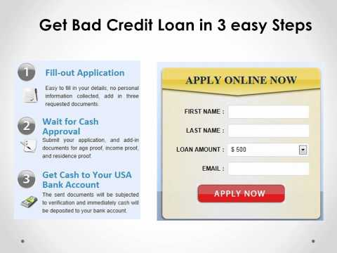 Loans for bad credit|Loan for bad credit