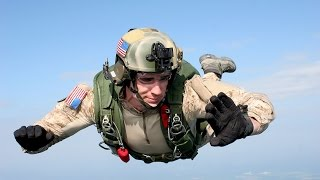 GO PRO FOOTAGE US Military Paratroopers Training Exercise