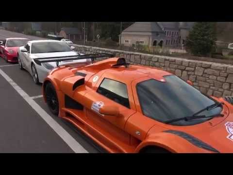 Gumpert Apollo S have arrived to Spa with its owner for Gran Turismo Events