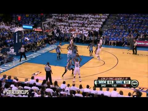 Kevin Durant Full Highlights vs Grizzlies 2014 Playoffs West R1G2 - 36 Pts, 11 Reb