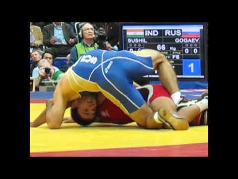 Kumar Sushil (India) Gold Medal 66kg