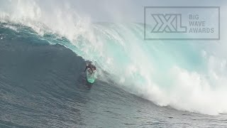 Paige Alms at Jaws 5 - 2015 Billabong Ride of the Year Entry - XXL Big Wave Awards