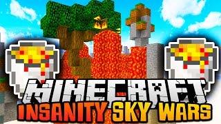 "Minecraft INSANE SKY WARS ""THE INSANE DUE?!"" w/ Preston and Woofless"