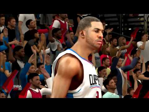 NBA 2K16 Toronto Raptors Vs Los Angeles Clippers PS3 HD