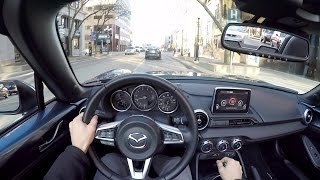 2016 Mazda MX-5 Miata GT - WR TV POV City Drive